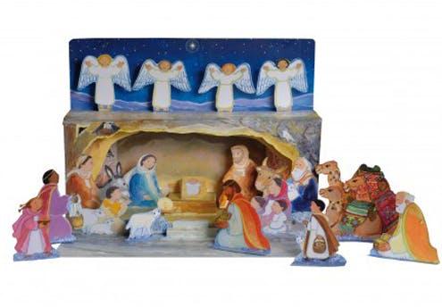 Crèche de Noël des éditions Mame