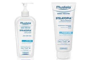 Crème lavante et baume relipidant Stelatopia®
