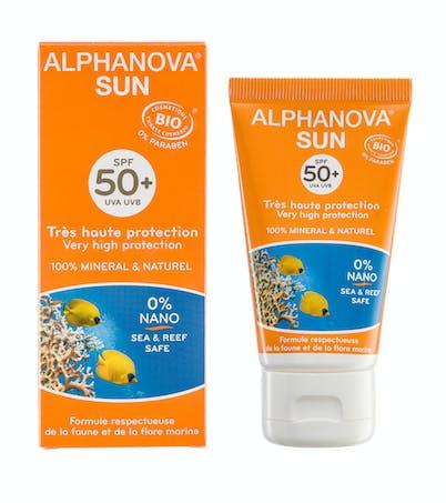 Crème solaire Alphanova