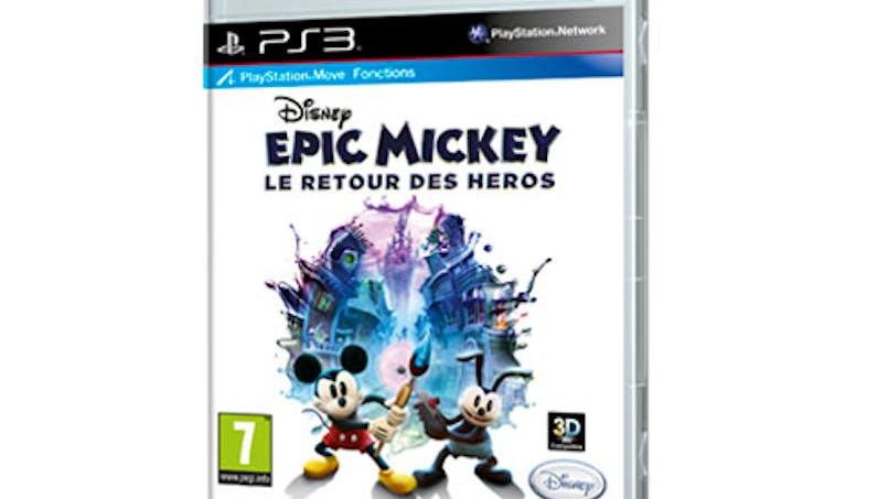 Disney Epic Mickey, le retour des héros