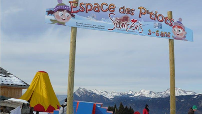 Samoëns : un espace ludique pour les enfants