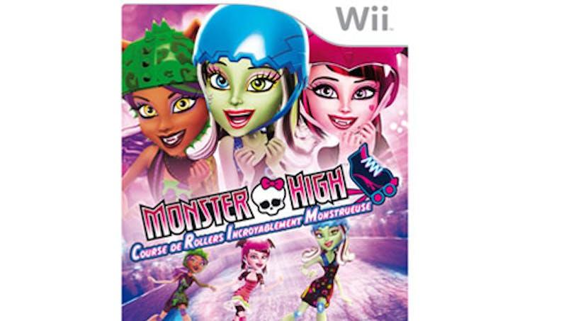 Monster High : course de rollers incroyablement       monstrueuse