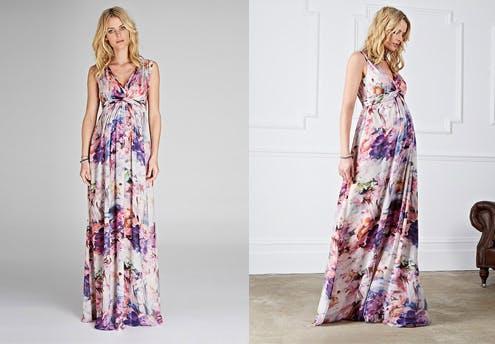 Robe de mariée colorée