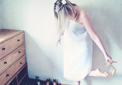 Robe de mariée danseuse