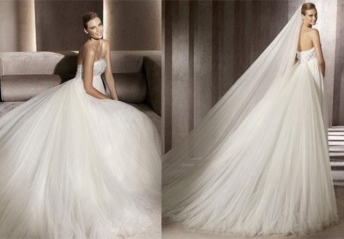 Robe mariee 75015
