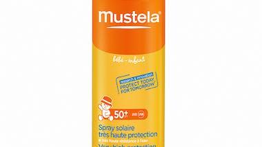 Spray solaire très haute protection Visage et corps -       Bébés et enfants Mustela