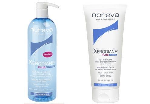 Surgras liquide et nutri-baume Xerodiane® Plus