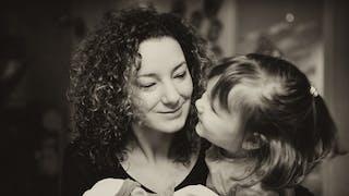 Crèche : des photos de mères et filles émouvantes