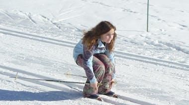 Trouver son équilibre sur les skis