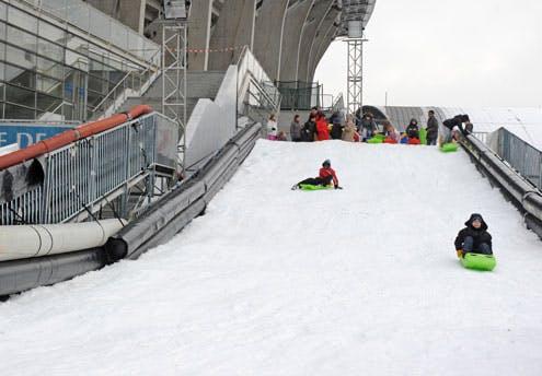 Charlety sous la neige