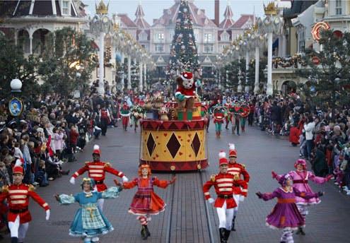 Noël enchanté à Disneyland Paris