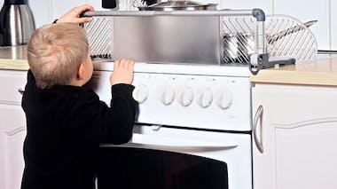 Protection de cuisinière