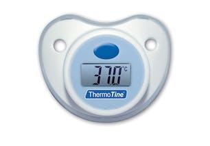 Tétine-thermomètre