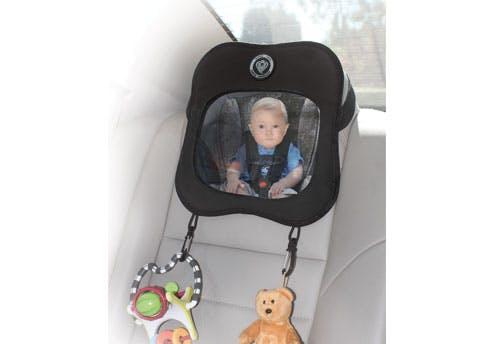 Voir bébé en voiture
