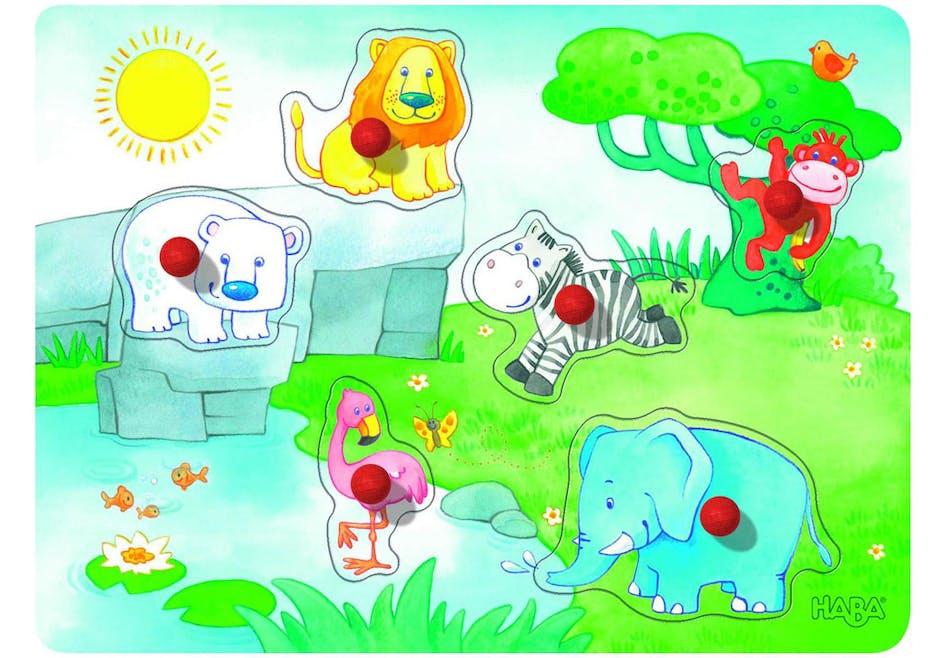 Puzzle musical Les amis du zoo