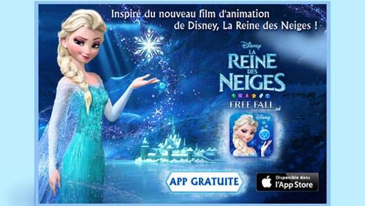 « La Reine des Neiges Free Fall »