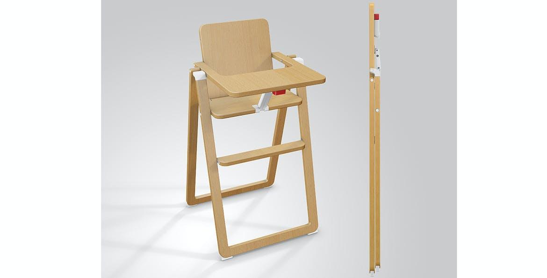 Chaise haute ultra-compacte de SUPAflat