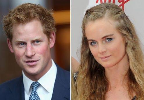 Prince Harry et Cressida Bonas