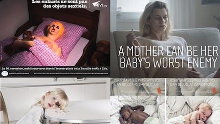 Les campagnes chocs sur la maternité et les   enfants
