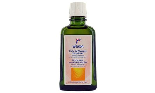 Huile de massage vergetures, weleda|huiles anti-vergetures pendant la grossesse
