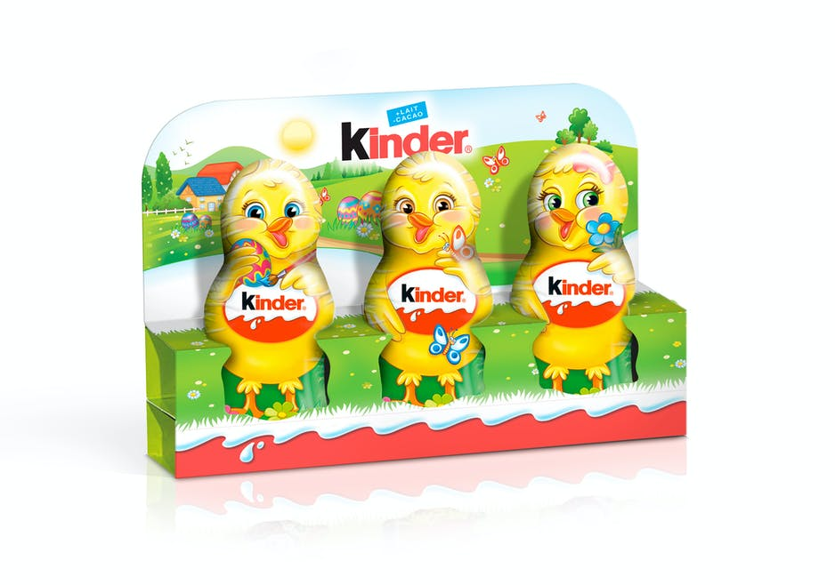 Moulages Kinder