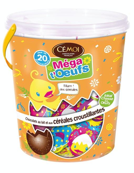 Seau Méga T'œufs de Cémoi