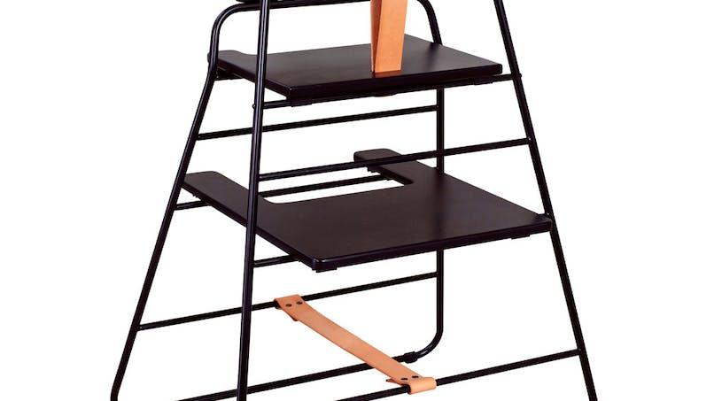 Chaise haute Budtz Bendix de Towerchair : la plus         incroyable