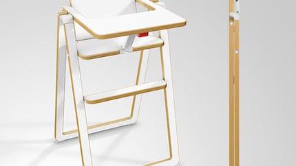 Chaise haute SUPAflat, Gamin Tout Terrain :   hyper-compacte