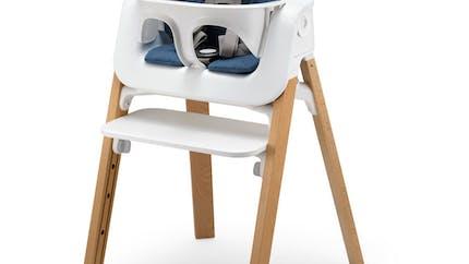 Chaise haute Steps de Stokke : la plus évolutive