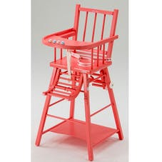 Chaise haute transformable de Combelle : ultra-traditionnelle ...