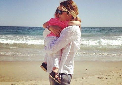 Drew Barrymore (fête des mères 2014)