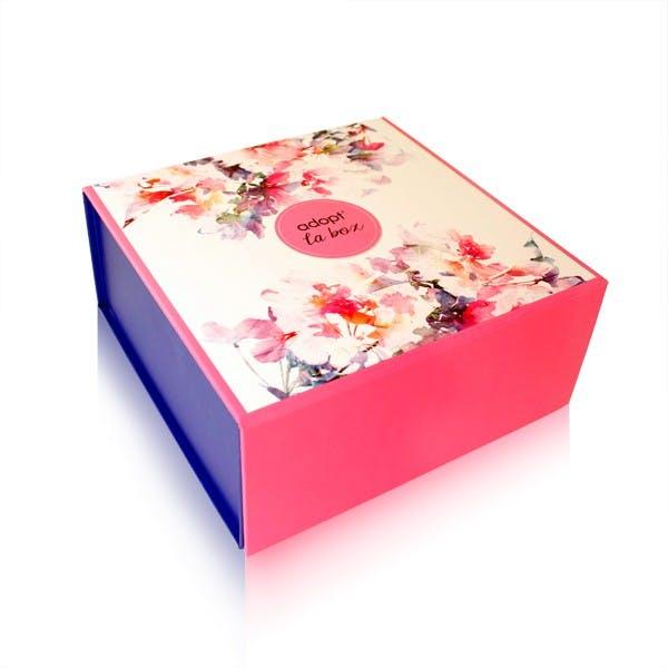 Boîte cadeau Flower