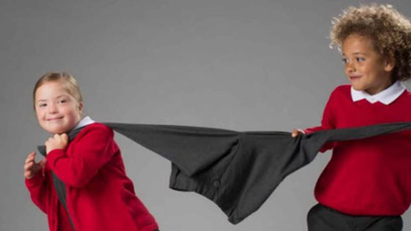 7 ans, trisomique et… égérie d'une marque de   vêtements