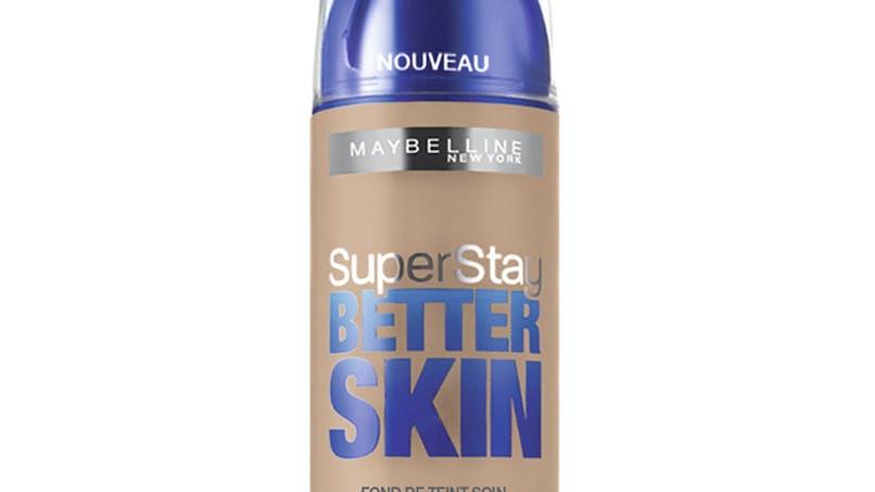 Palmarès maquillage : Gemey-Maybelline, fond de teint         soin superstay better skin SPF 20