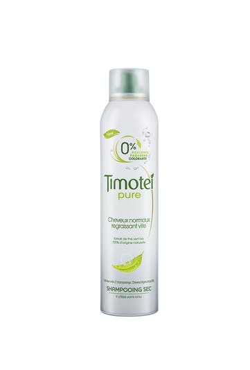 Palmarès soins capillaires : Timotei, shampoing sec         Pure