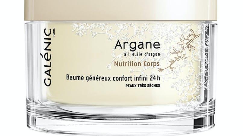 Palmarès soins du corps : Galénic, baume généreux         confort infini 24 H Argane