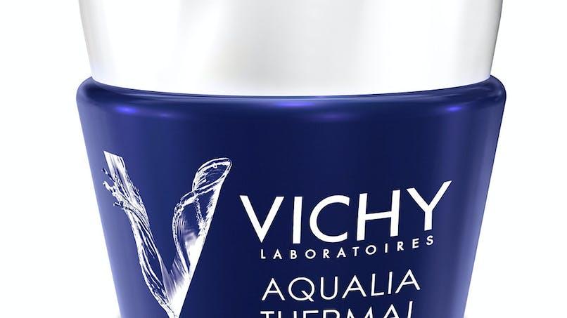 Palmarès soins du visage : Vichy, Aqualia thermal,         masque spa de nuit défatigant