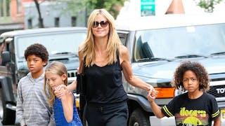 Heidi Klum : sa fille de 11 ans en talons aiguilles   !