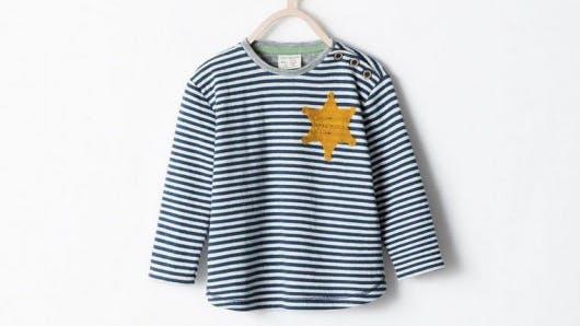 Zara : la marinière bébé qui ne passe pas !