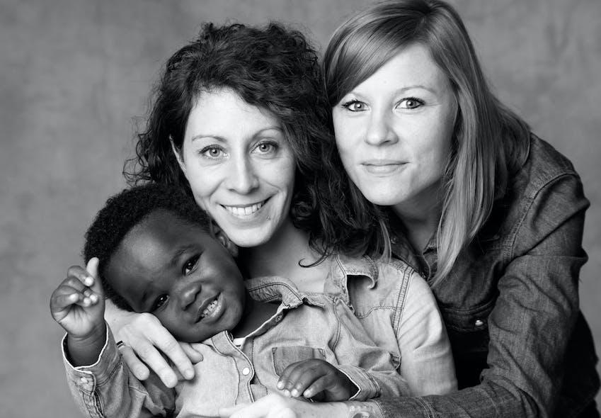 Octave, Mélanie et Clémence