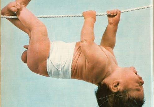 1969 : les incroyables réflexes du nourrisson