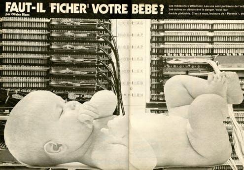 1978 : déjà des inquiétudes liées au fichage des        données personnelles...