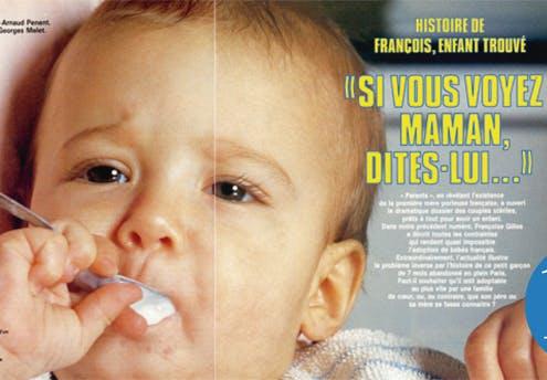 1985 : l'histoire de François, enfant trouvé