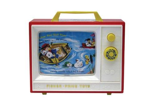 Télévision vintage en réédition