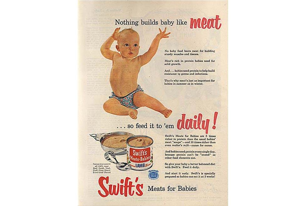 La viande Swift's en conserve
