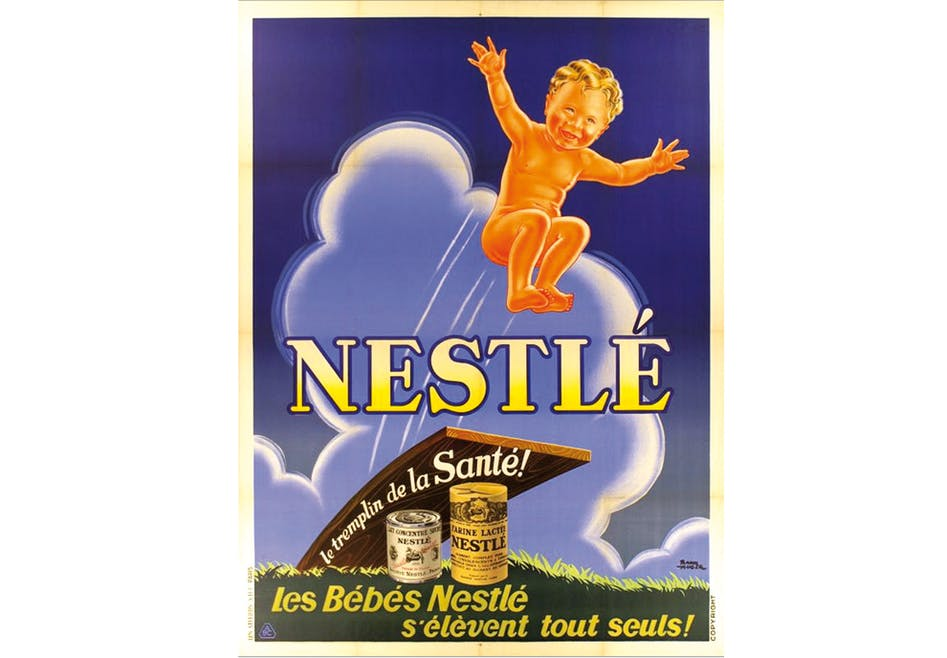 Lait maternel Nestlé