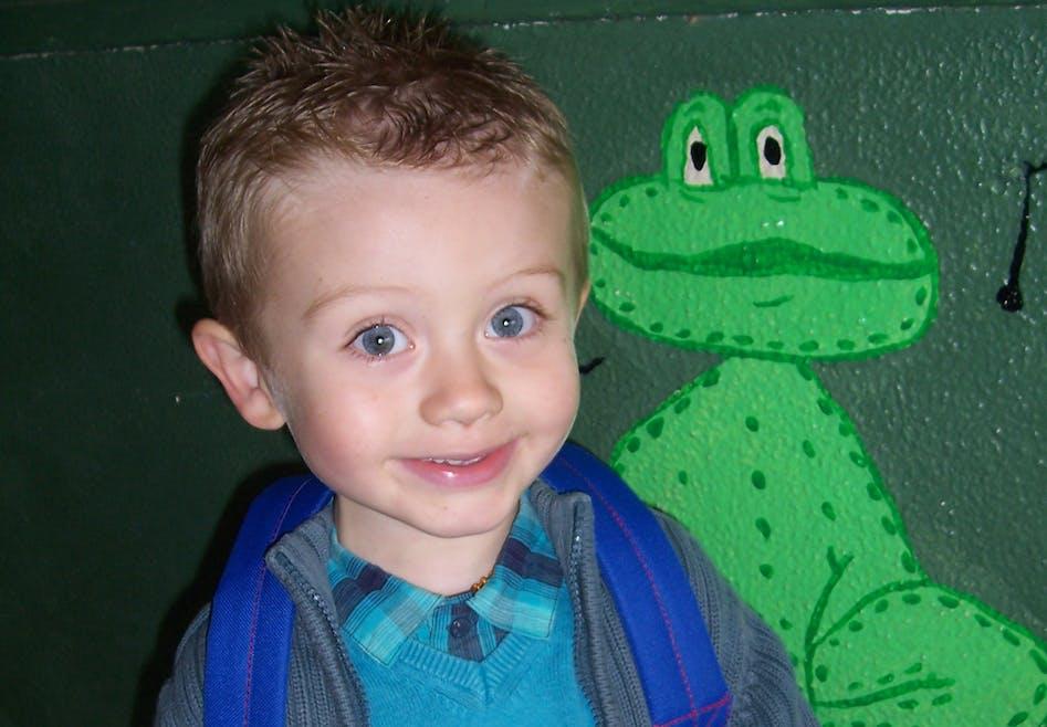 Lucas (3 ans et demi - moyenne section)