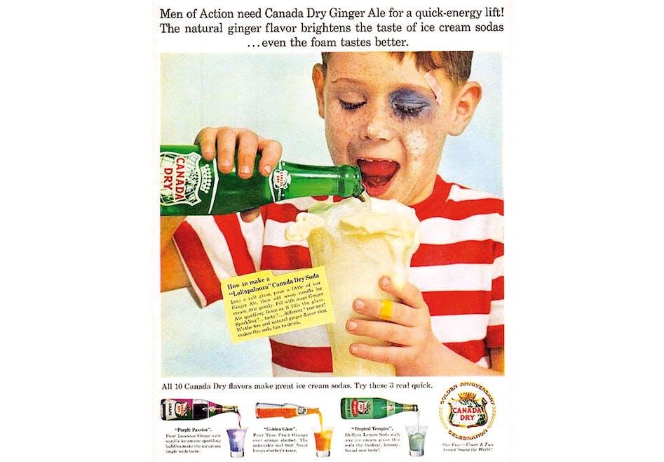 Soda Canada Dry