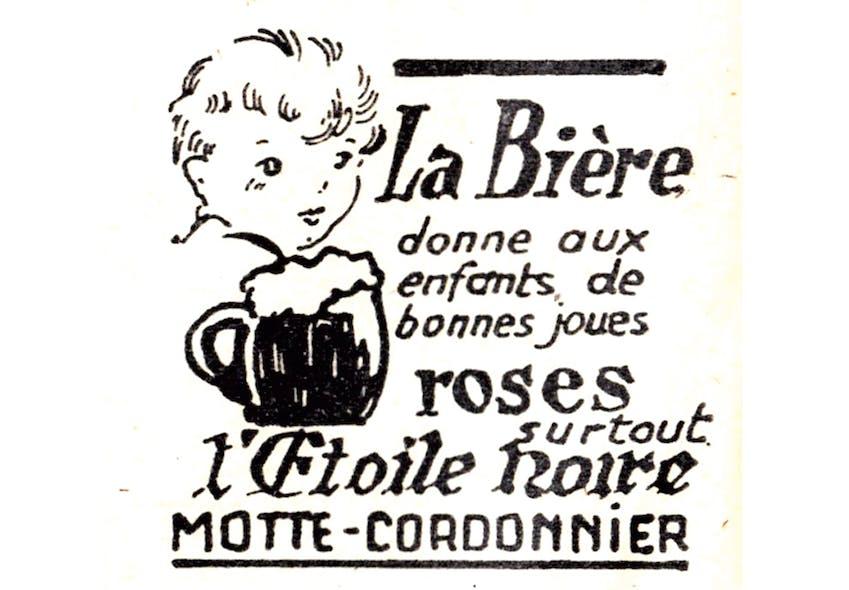 Bière l'Etoile noire Motte-cordonnier