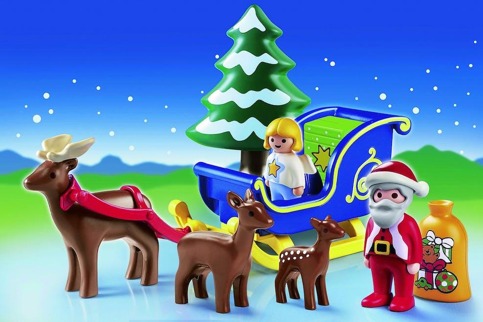 Le Père Noël et son traîneau